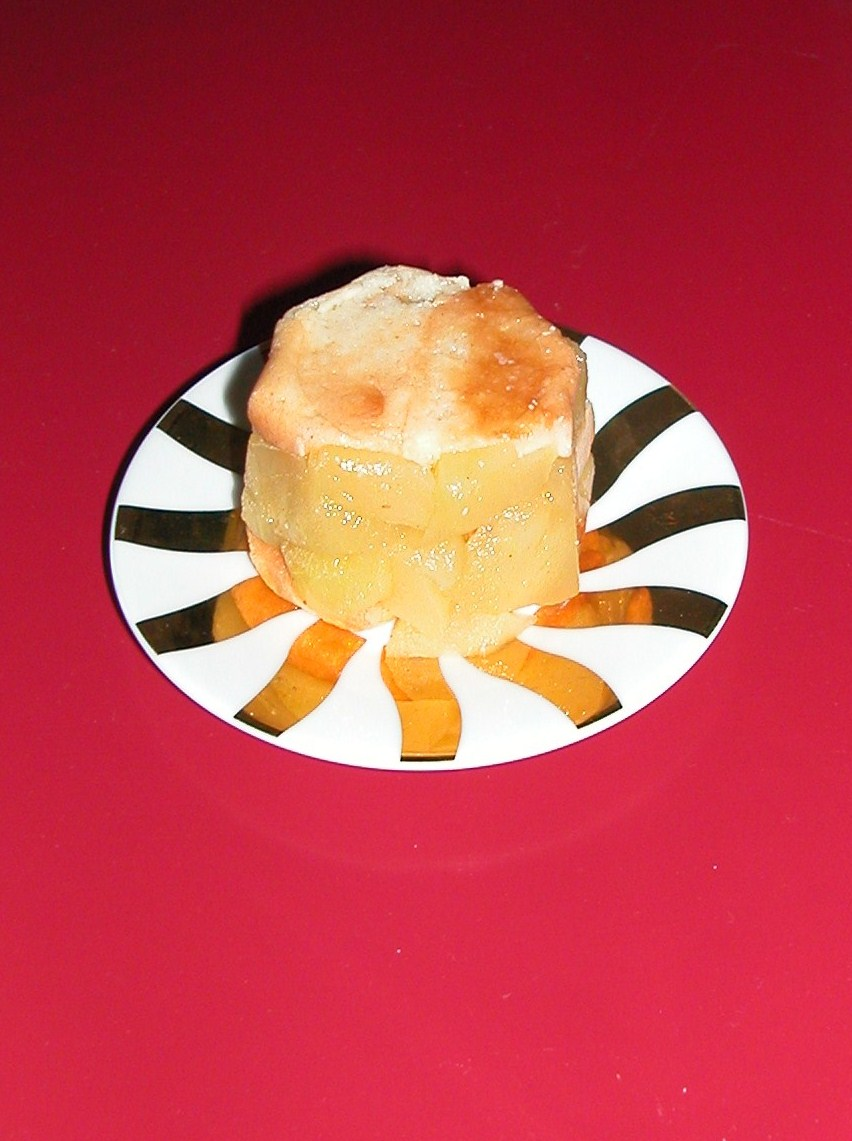 charlottine à la pomme