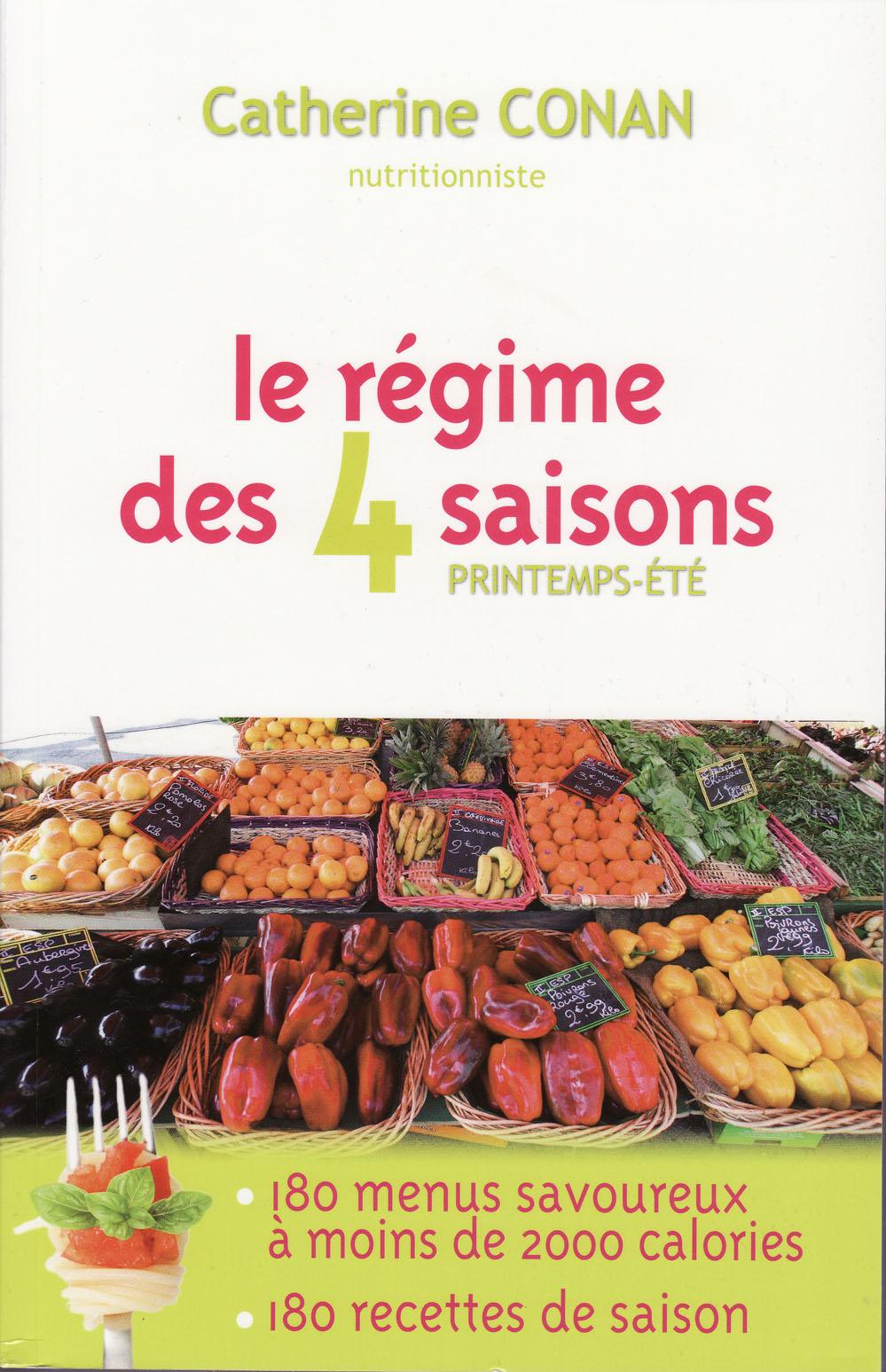 Livre régime 4 saisons